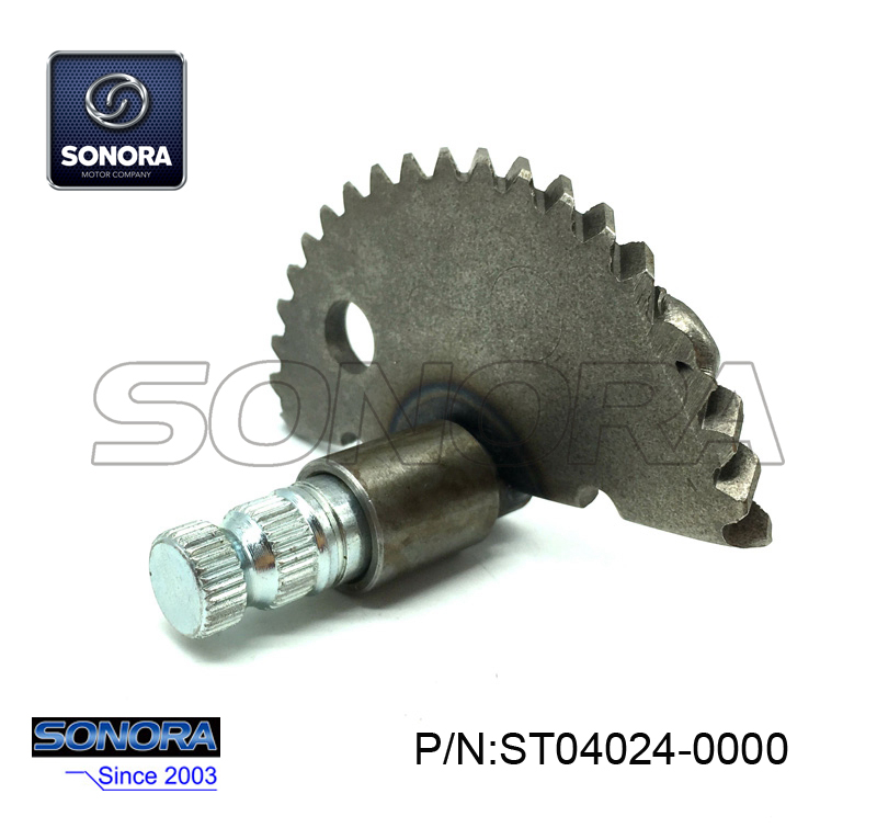 ST04024-0000 GY6-50 139QMA,B Kick Start Shaft Gear 2