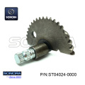 GY6 50 139QMA/B Kick Start Shaft Gear 55MM (P/N:ST04024-0000) Top Quality