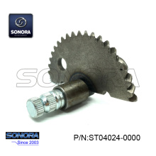 China Gold Supplier for Scooter Kick Start Parts GY6 50 139QMA/B Kick Start Shaft Gear 55MM (P/N:ST04024-0000) Top Quality supply to India Supplier
