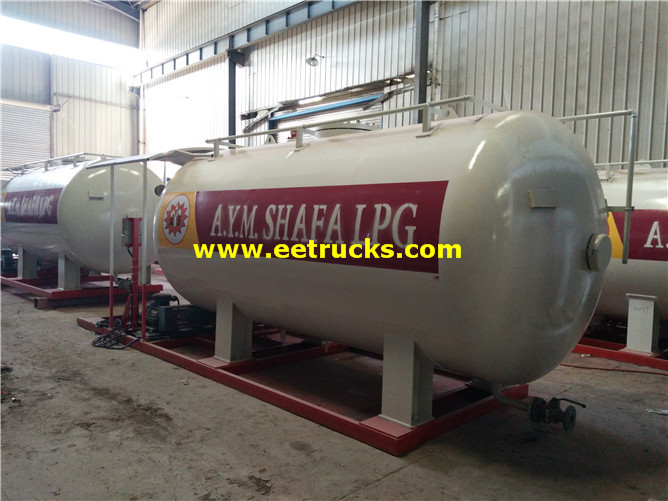 12000L Skid-mounted LPG Filling Stations