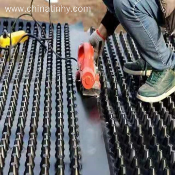 HDPE Roofing Material Drainage Board with Geotextile