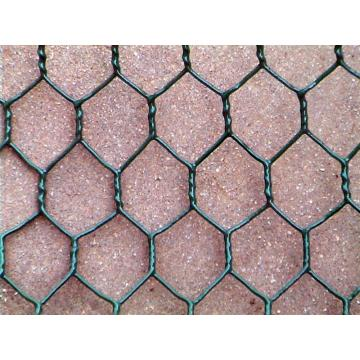 20 Gauge Vinyl Coated Black Chicken Wire