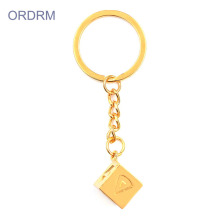 OEM manufacturer custom for Creative Gifts Gold Plated Han Solo Dice Keychains Wholesale export to Italy Suppliers