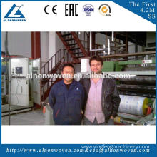 New design AL-1600 S 1600mm PP spunbond fabric making machine with great price