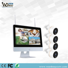 4CH 2.0MP WIFI NVR Kits with Touch Screen