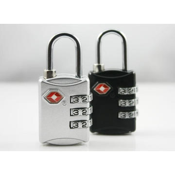 OEM for Tsa Combination Lock,Travel Luggage Lock Leading Manufacturer and Supplier TSA 3 Dial Combination Luggage Pad Lock  supply to Mali Suppliers
