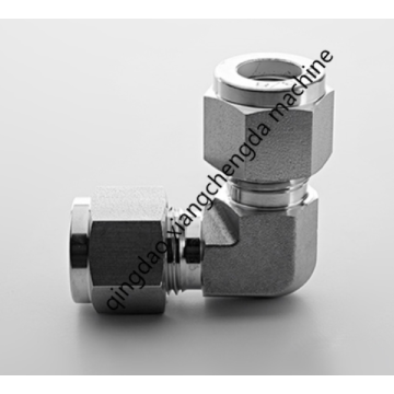 Metal Tube Elbow Ferrule Union Connector