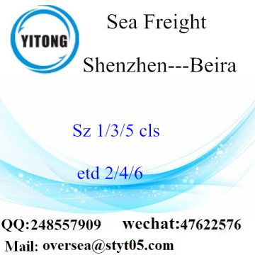 Shenzhen Port LCL Consolidation To  Beira