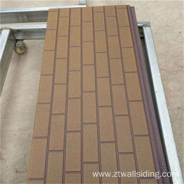 Isolerad PU Metal Decoration Sandwich Panel
