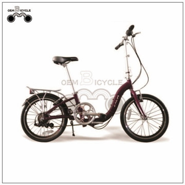 20INCH 7-SPEED STEEL FORK FOLDING BIKE