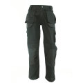 Black double stitched cargo pants