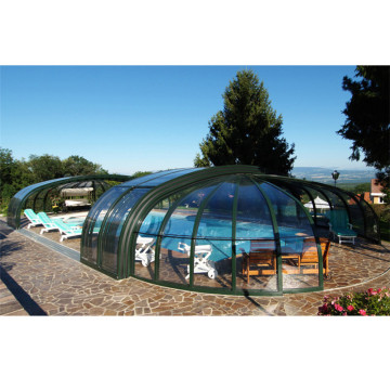 Aluminum Glass Pool House Swimming Pool Enclosures