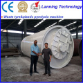 latest waste tire to oil plant