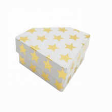 Diamond Shape Paper Packaging Jewelry Earring Box