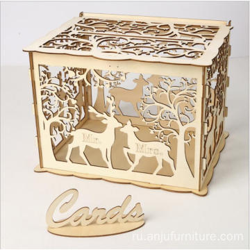 МДФ Доска Perfect Wedding Favor Box