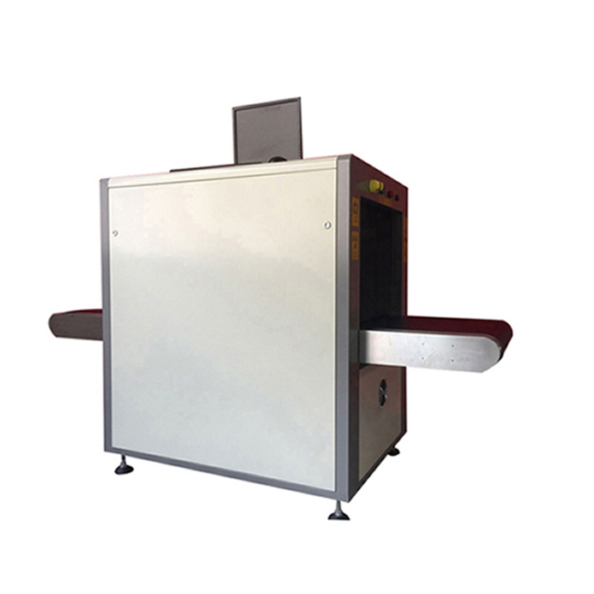 X-Ray parcel scanner