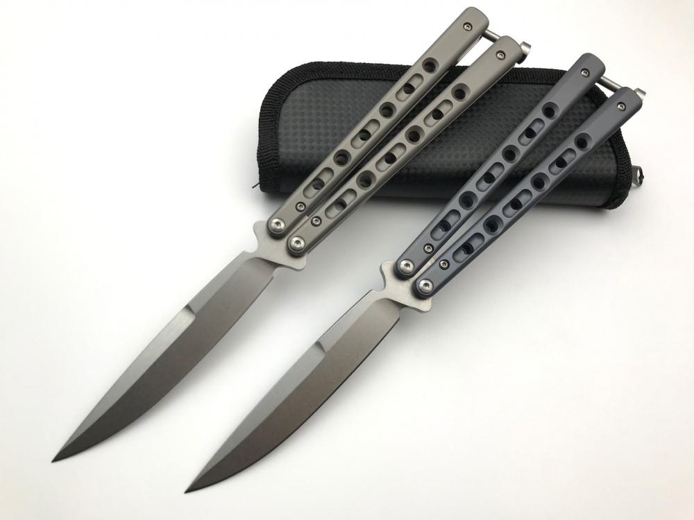 Titanium Butterfly Knife