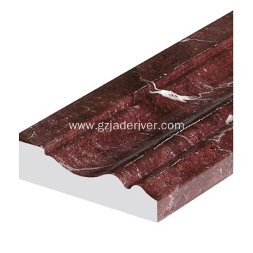 Tsarin shinge na Marble Floble Artificial Marble Skirting