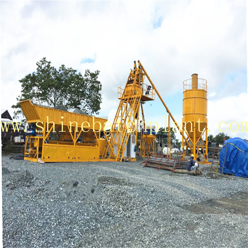 25 No Foundation Concrete Batching Plants