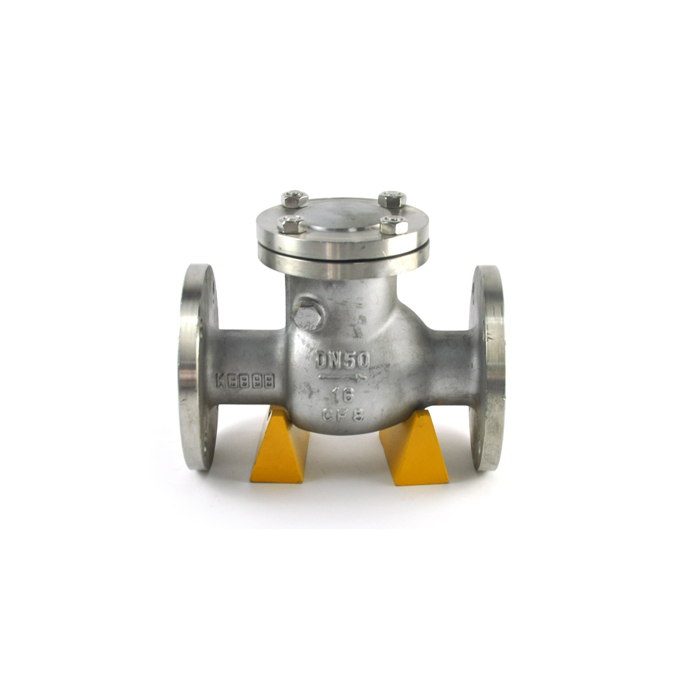API 598 dual door check valve flap type of check valves high quality