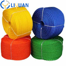 3 strand twisted polypropylene pp rope