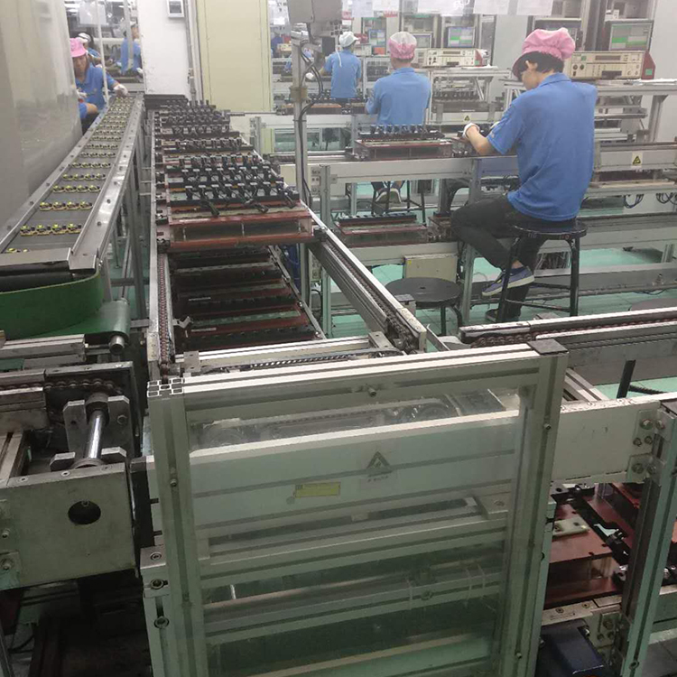 Gas Stove DVD Chain Conveyor Assembly Line