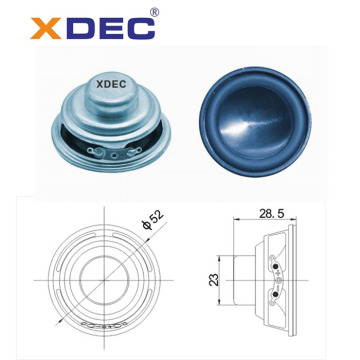 China OEM for Mini Robot Speaker Fullrange 52mm 4ohm 5w neodymium speaker supply to Jamaica Suppliers