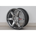 6Spoke Fully Black Aluminum Alloy Replica