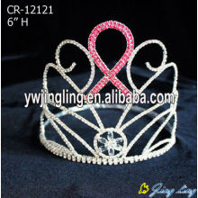 Pink Crystal Rainbow Crown