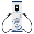 Column EV Charger Double Gun ev charging stations