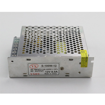 12V 8.5A 100W Indoor Use LED Power Supply