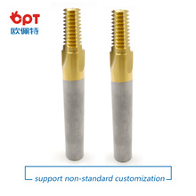 China for UNF Thread Milling Cutters Solid  Carbide Thread Mill NPT export to United States Exporter