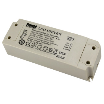 Dimmable 60W indendørs LED-lysdriver