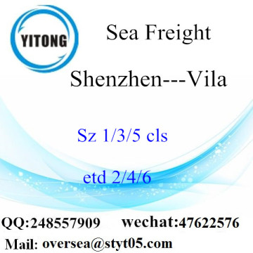 Shenzhen Port LCL Consolidation To Vila
