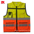 Luminous  EN 20471 reflective safety vest
