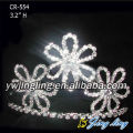 Flower Shape Pageant Crown