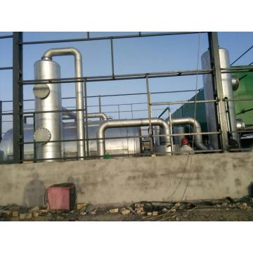 lifelong maintenance MSW pyrolysis project