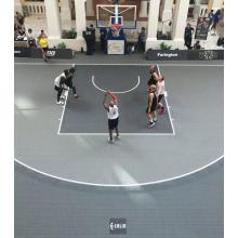 Highly praised FIBA approved 3x3 basketball court tiles