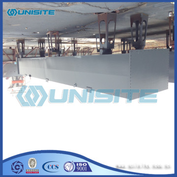 floating working platforms for marine construction