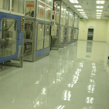 Workhouse ESD epoxy floor