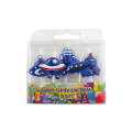 Party Supplies Unique Airplane Shape Birthday Candles