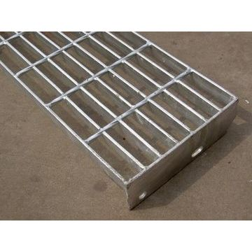 Metal steel stair tread