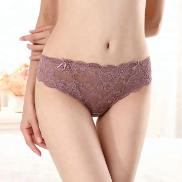 Different color lace women transparent lingerie