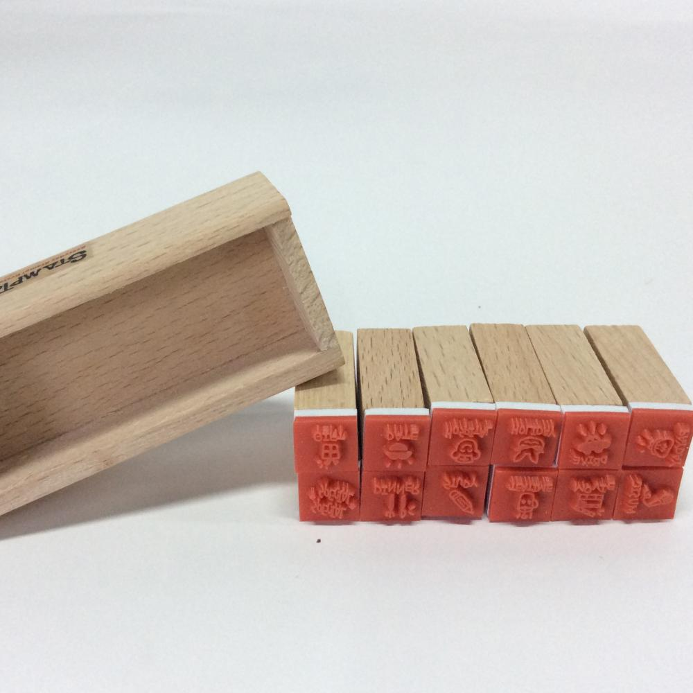 Wooden Animal Stamp