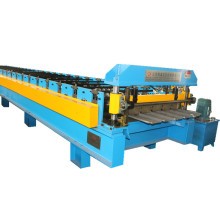 Trapezoidal colorful PPGL making roll forming machine