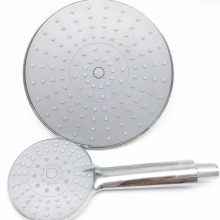 ABS plastic round bathroom rainfall shower head