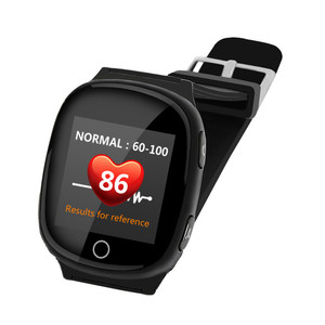 Heart Rate Monitor Watch GPS Tracker for Elder