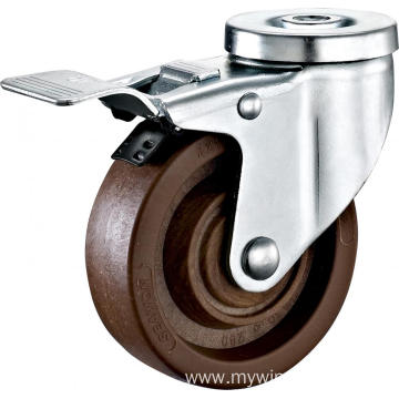 4'' Bolt Hole High Temperature Caster With Brake