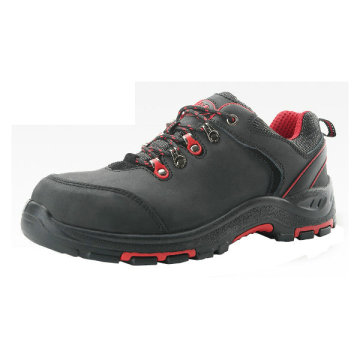 Low Cut Style Nubuck Leather Safety Shoes