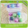 Fancy Ball Erasers For School Students